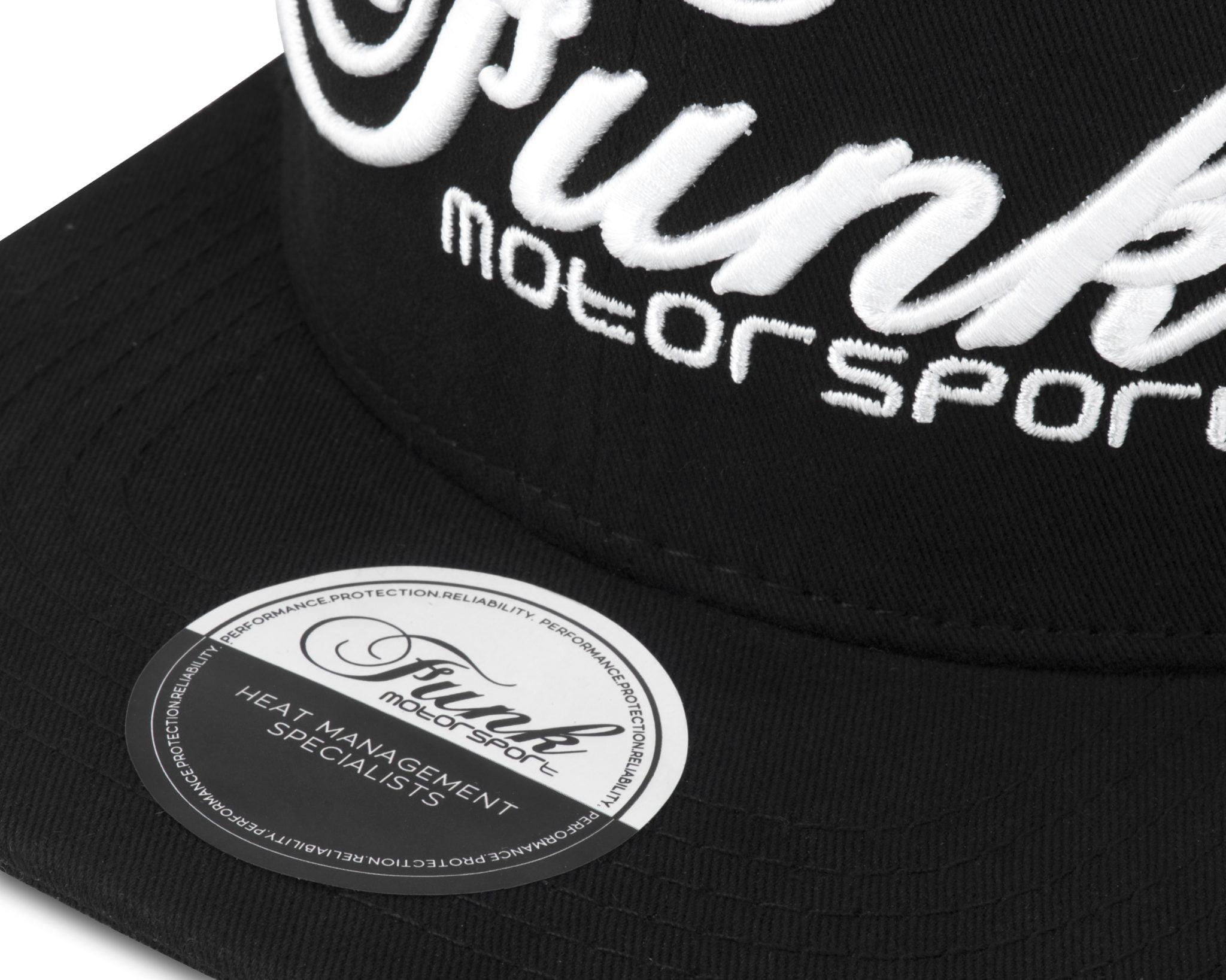 Funk Motorsport Black Snapback