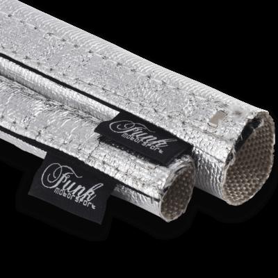 Funk Motorsport Silver Velcro Heat Sleeving