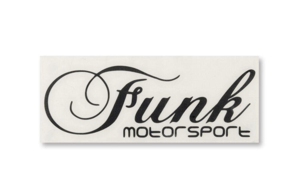 Funk Motorsport Black Decal