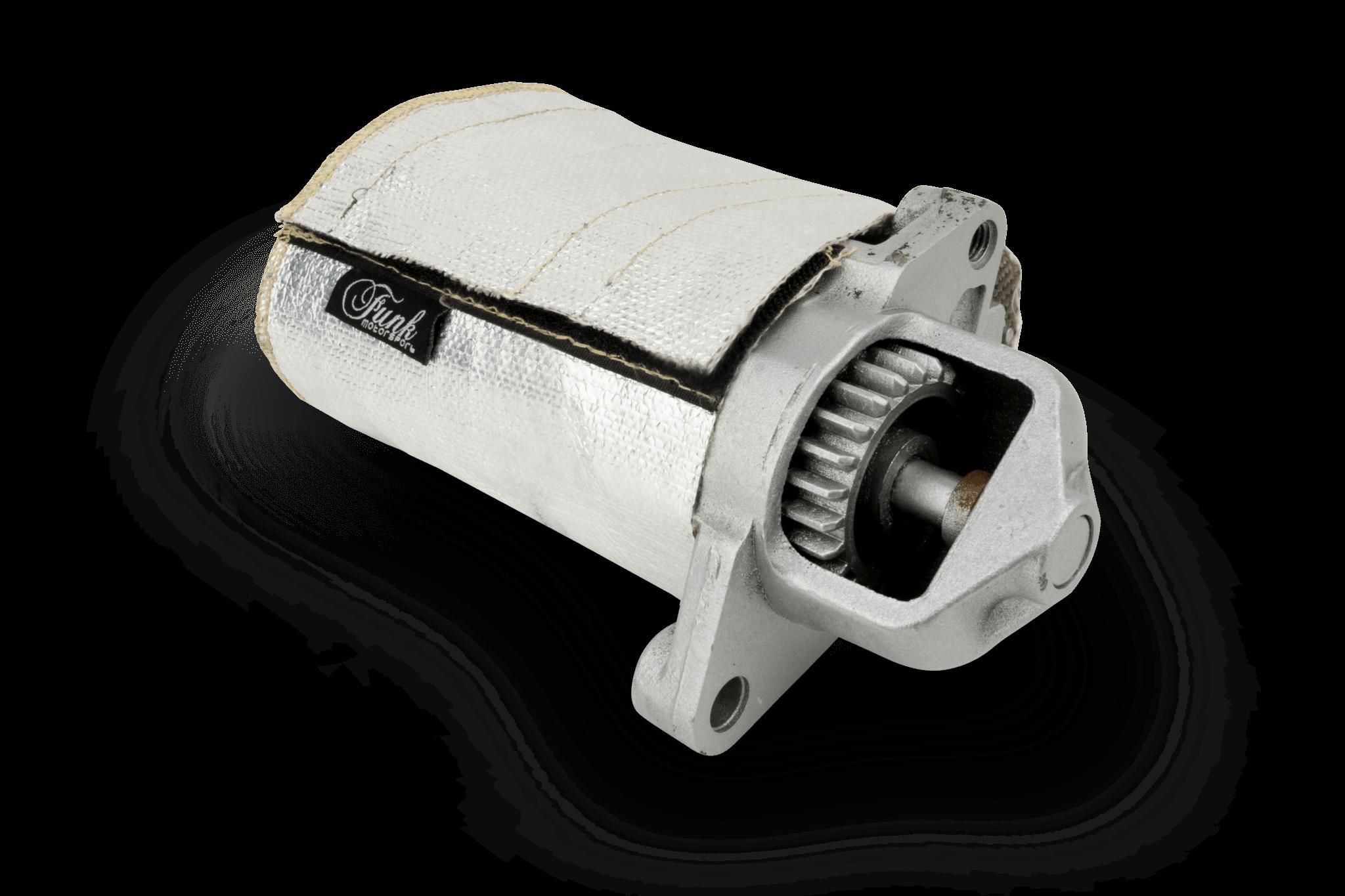 Funk Motorsport - Starter Motor Protection durability cover, FUNK-STRTCV
