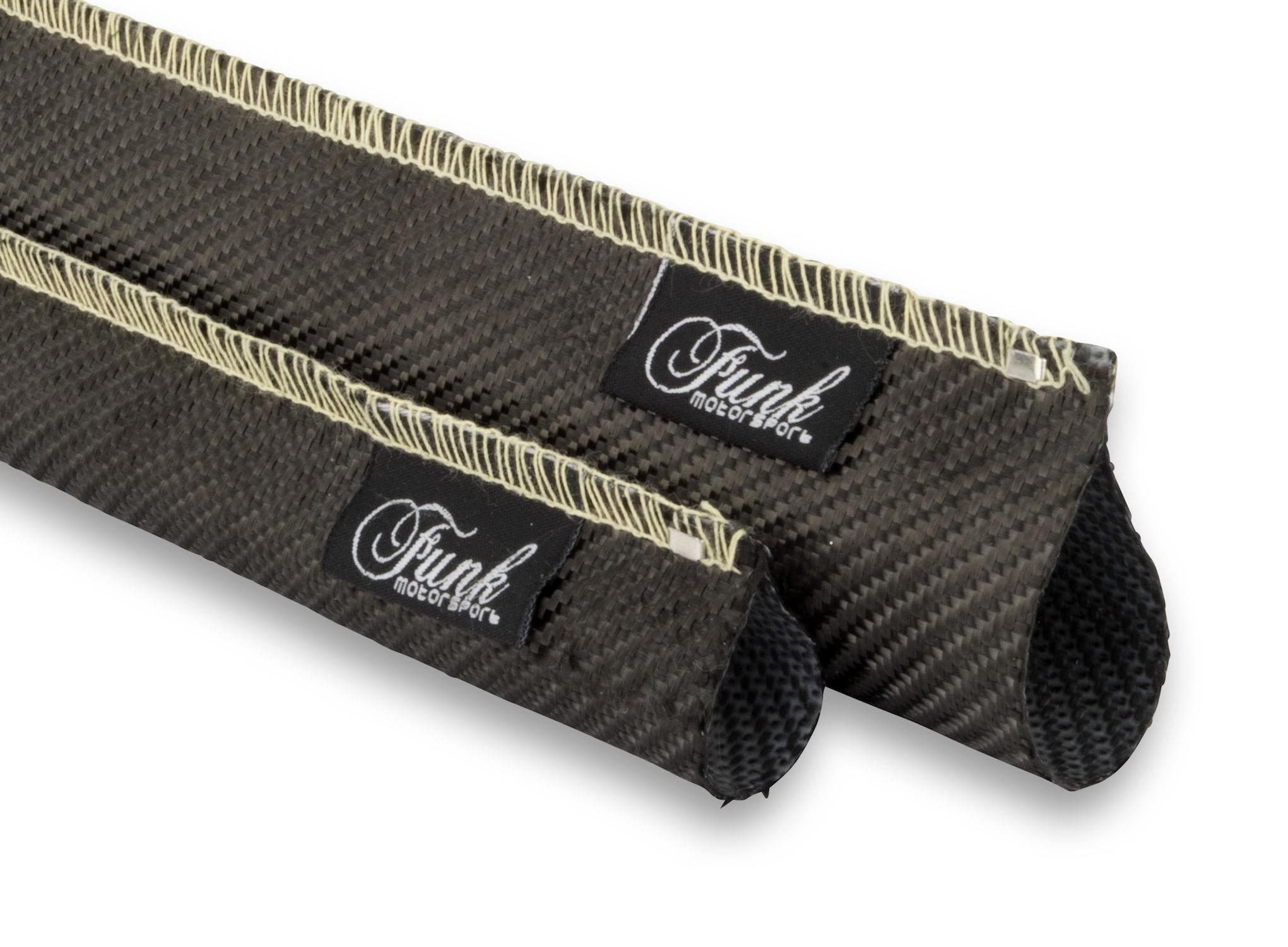 Funk Motorsport - Carbon Fibre Sleeving (Sewn) - 15⌀mm X 0.5m, FUNK-CFSWN-1505